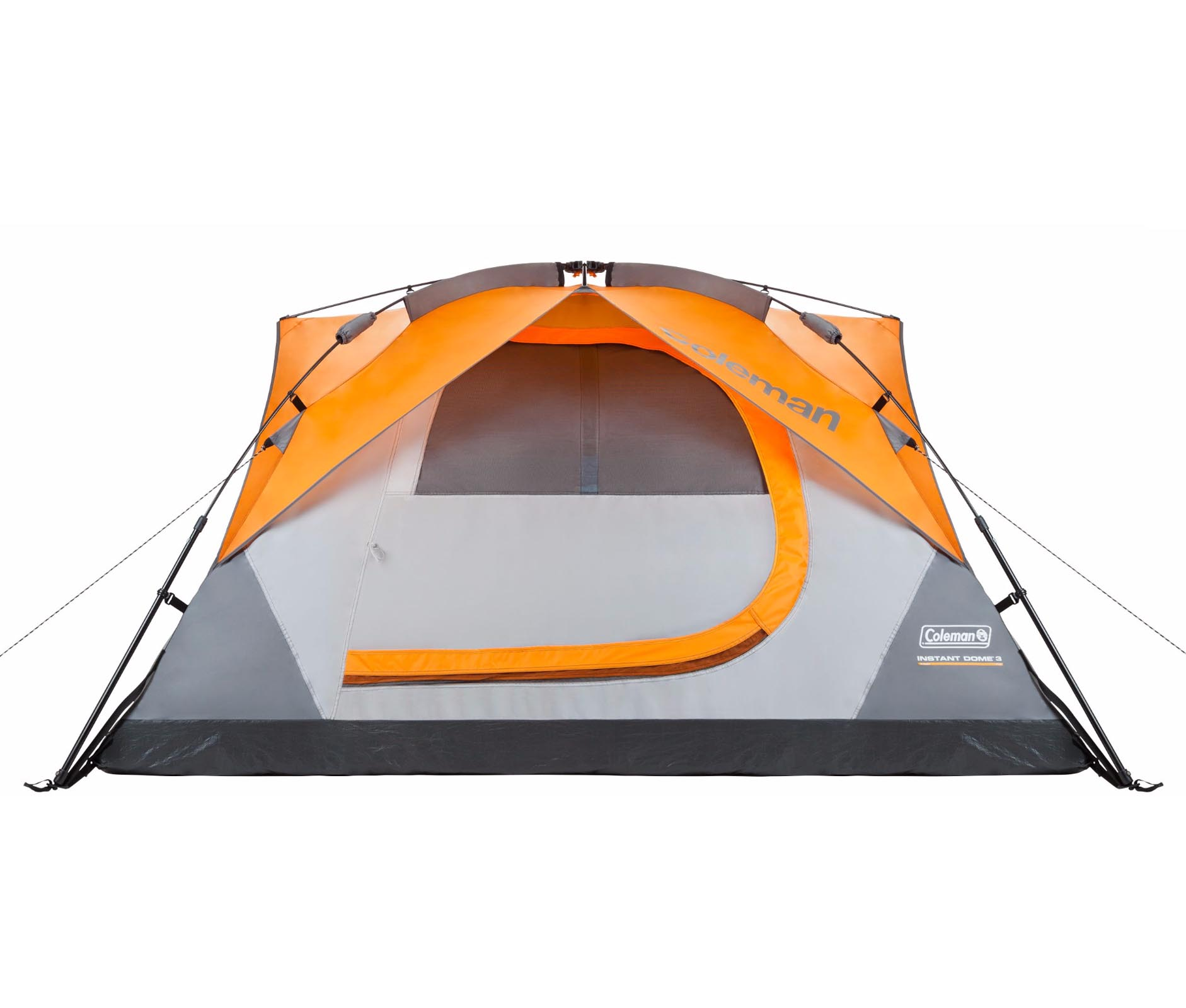 Coleman Signature 3 Person Instant Dome C&ing Tent w/Built-In Rainfly | 7 x 7u0027 - Walmart.com  sc 1 st  Walmart & Coleman Signature 3 Person Instant Dome Camping Tent w/Built-In ...