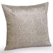 Jovi Home  Leopard velvet Decorative Pillow