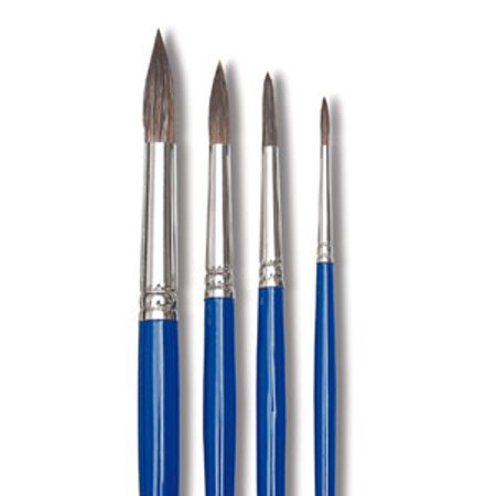 Blick Scholastic Ox Brush - Round, Short Handle, Size 4 ()
