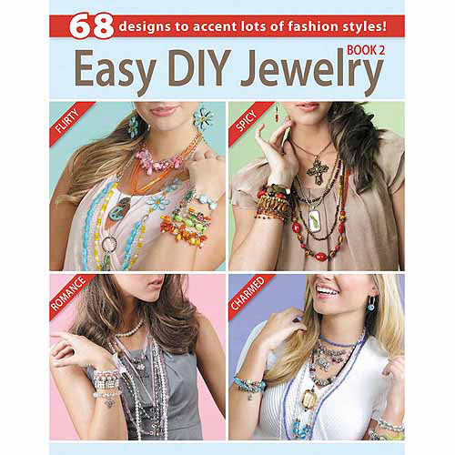 Leisure Arts, Easy DIY Jewelry Book 2