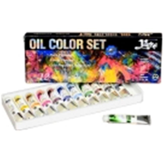 Yarka Non - Toxic Oil Color Set, Assorted Color, Set Of 12