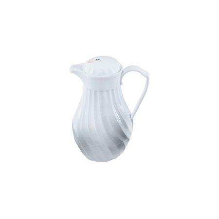 Vollrath 52160 SwirlServe White Hot-N-Cold 42 Ounce Beverage (Vollrath Server)
