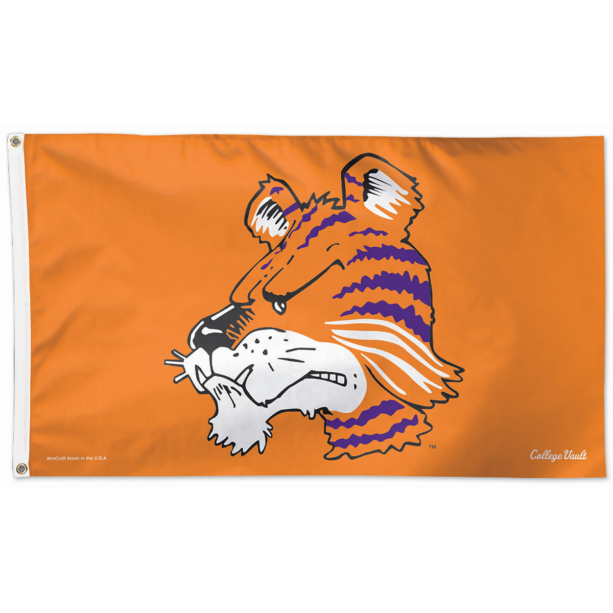Wincraft Clemson Tigers Throwback Vintage 3' x 5' Pole Flag
