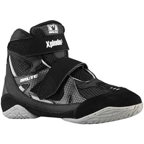 lowest price ad134 b0c6d Brute - Brute Xplode 2 Youth Wrestling Shoes - Walmart.com