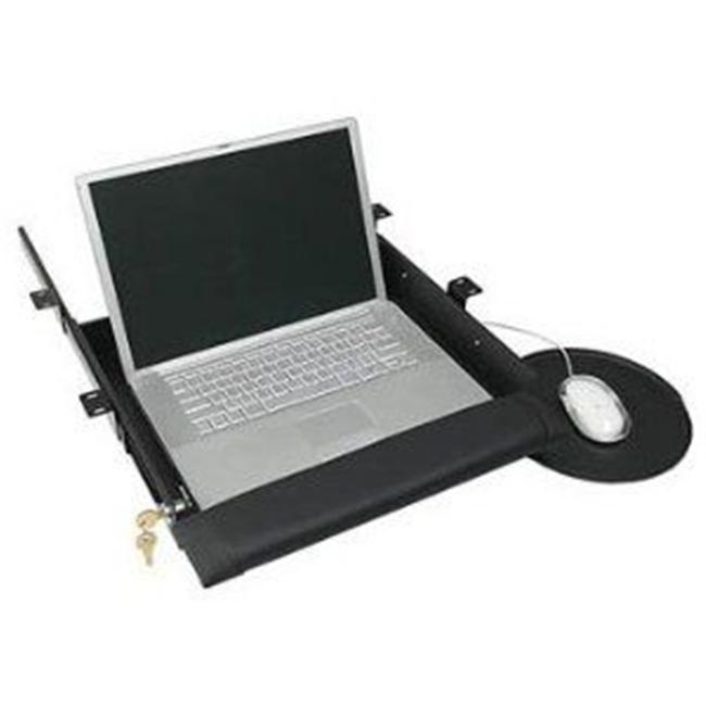 Sunway LTD500 Locking Security Drawer - 16 inch Slide Rails Cord Hole Pad