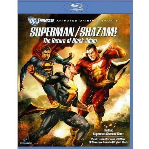 DC Showcase: Superman / Shazam!: The Return Of Black Adam (Blu-ray) (Widescreen)