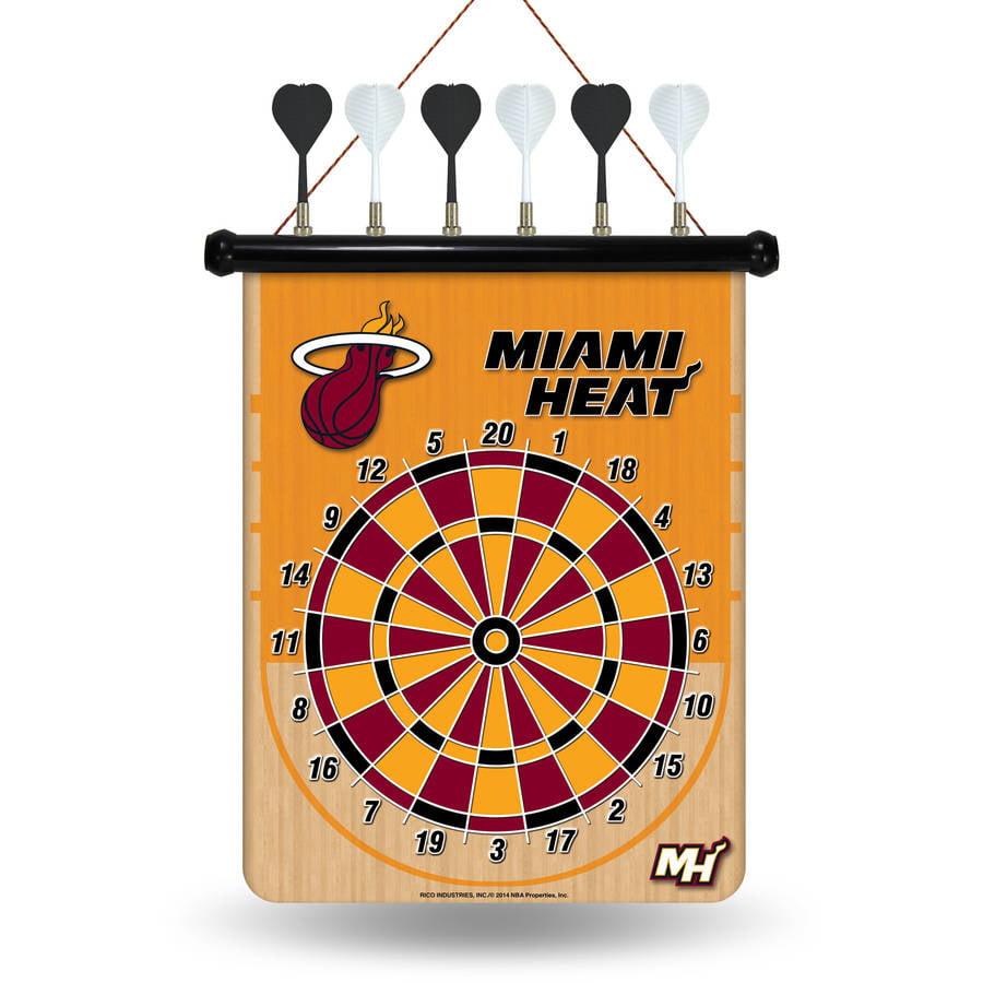 Rico NBA Magnetic Dart Set, Miami Heat