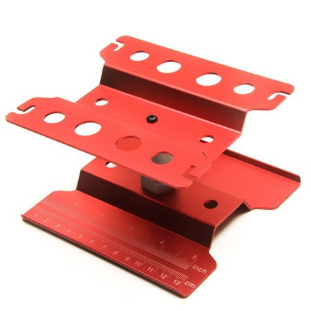Work Stand Repair Workstation 360 Degree Rotation Lift/Lower Work Platform For 1/8 1/10 Scale RC Cars Trucks Buggies TRX4 SCX10 D90 General - image 5 of 8