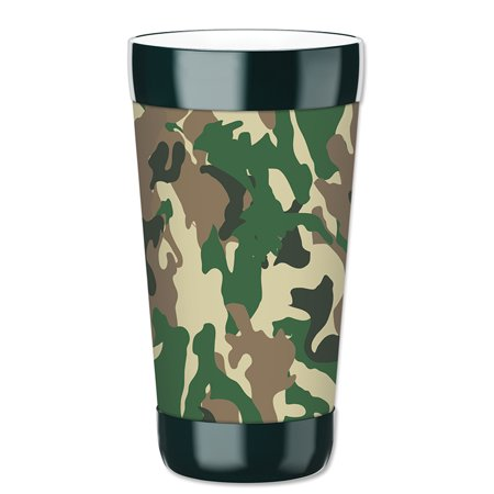 Mugzie 16-Ounce Tumbler Drink Cup with Removable Insulated Wetsuit Cover - Camo](Camo Cup)