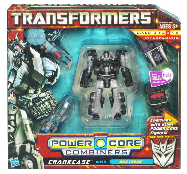 Transformers Power Core Combiners Crankcase with Destrons Action Figure 2-Pack 20916