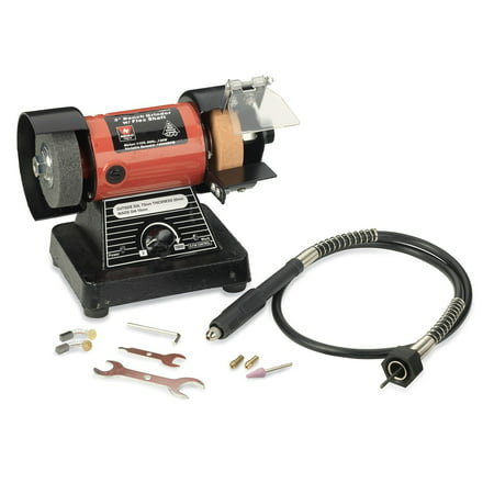 Neiko 10207a 3 Inch Mini Bench Grinder And Polisher With