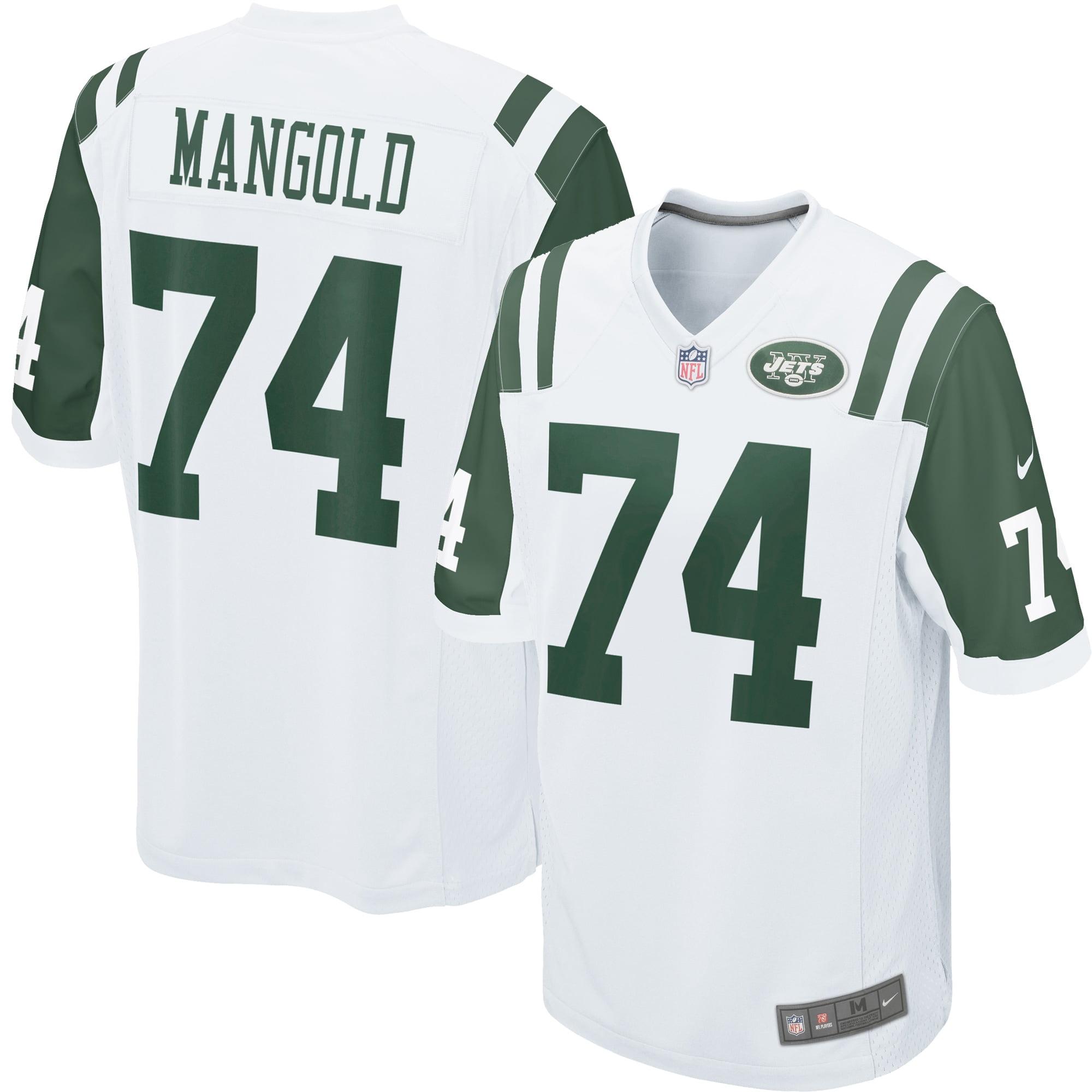 Nick Mangold New York Jets Nike Youth Game Jersey - White - Walmart.com