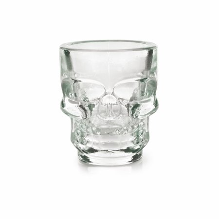 shot glasses, 1.5oz Spooky Skull Halloween funny cute shot glass, Set of 4 - Halloween Bar Shots