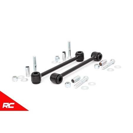 Rough Country Rear Sway Bar Links compatible w/ 2007-2018 Jeep Wrangler JK w/ 2.5-4