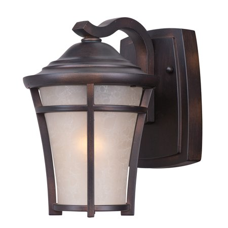 Wall Sconces 1 Light Bulb Fixture With Copper Oxide Finish Die Cast Aluminum Material Medium Bulbs 7 inch 60 Watts ()