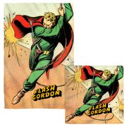 Flash Gordon Space Face Hand Towel Combo White