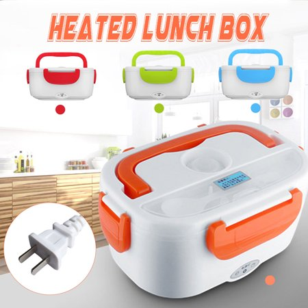 Portable Electric Heating Lunch Box Meal Food Storage Box Heater Rice Container ()