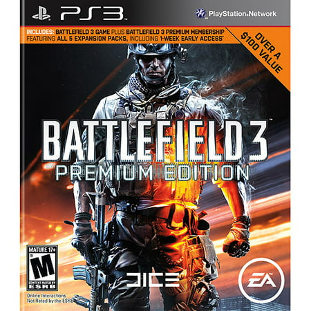 Battlefield 3 Premium Edition - Playstation 3