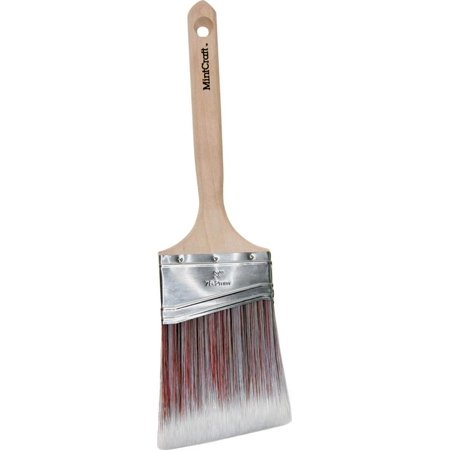 ProSource Angled Sash Paint Brush, 3 In W, Polyester Blend