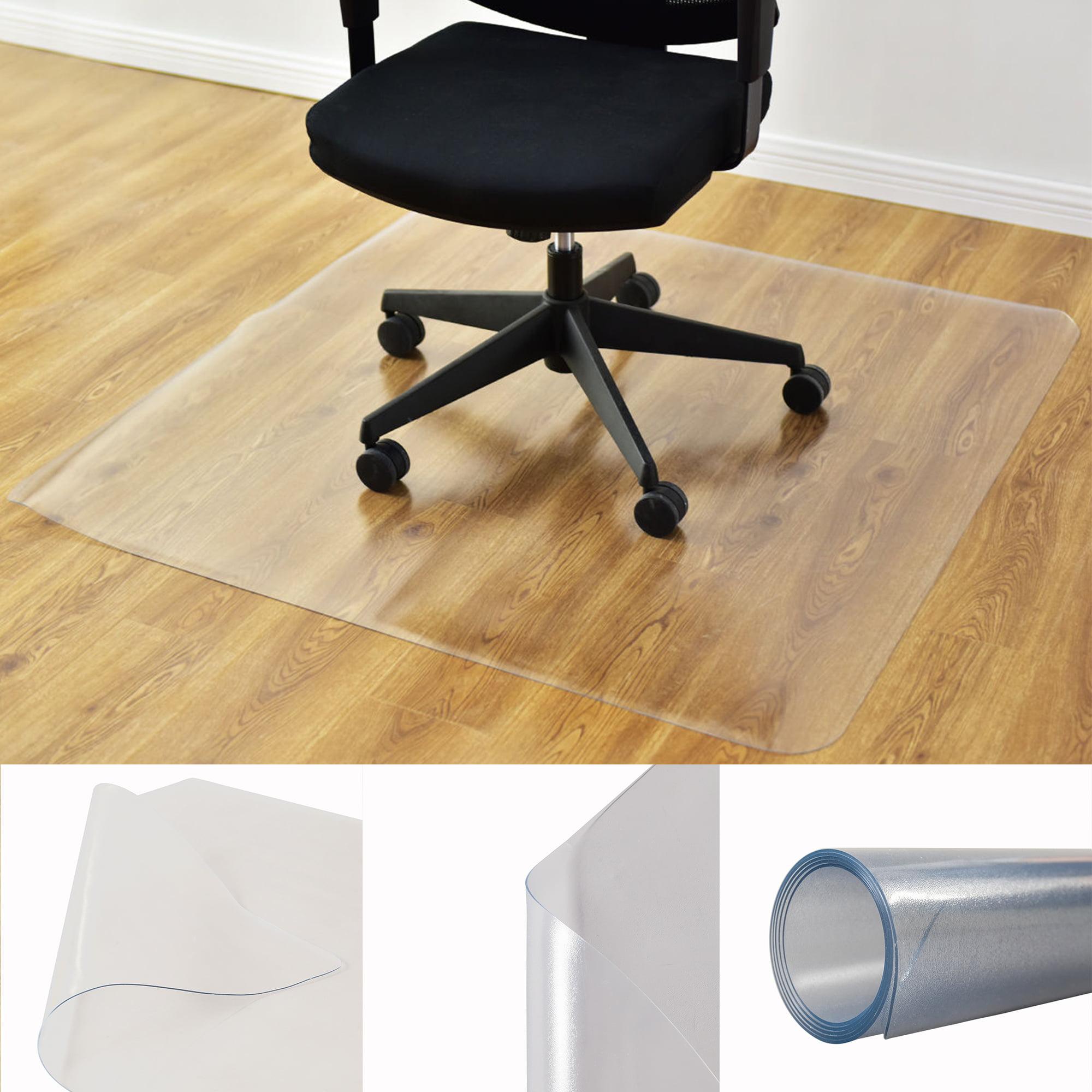 Hoommo Office Chair Mat, PVC Transparent Hard Floor Protector Office Floor  Desk Chair Computer Chair Mat - Walmart.com