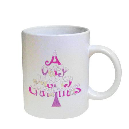 KuzmarK Coffee Cup Mug Pearl Iridescent White - A Very Pink (Very 30 Off)