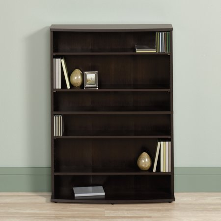 Sauder Beginnings Cinnamon Cherry Multimedia Storage Tower