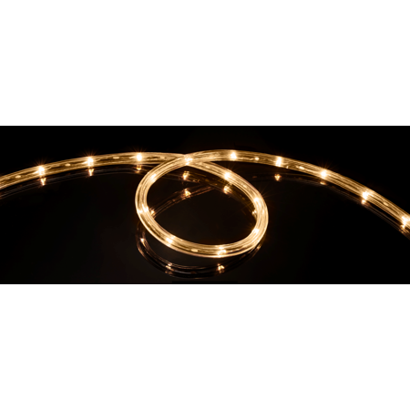 Meilo 16 FT LED Rope Light Soft White, Connectable, Waterproof, Indoor/Outdoor Use, Backyards, 360° Directional Shine, Decoration, Party, Landscape, Weddings, Christmas Décor, RV (Used Wedding Items)