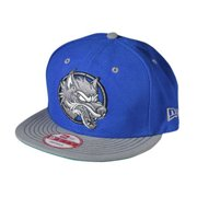 Close Your Eyes Men's  Wolf Baseball Cap Blue