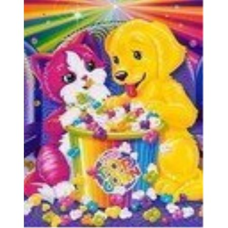 Lisa Frank Hot Seller Skye Puzzle Fun Rainbow Movie Matinee
