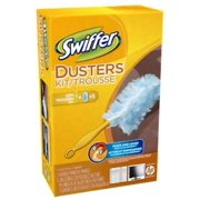 NEW 2PK Swiffer Duster Starter Kit Includes: 1 Handle & 5 Dusters