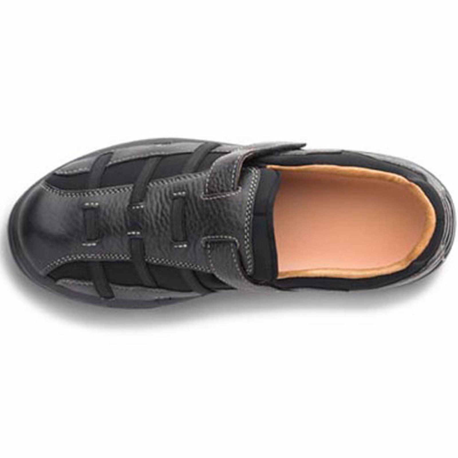 Dr. Comfort Betty Women's Casual Sandal: 8.5 Medium (A-B) Black Velcro