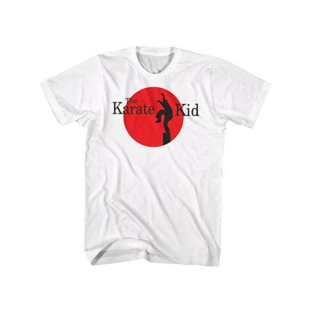 Karate Kid Logo Tee White Adult T-Shirt Tee - image 1 de 1