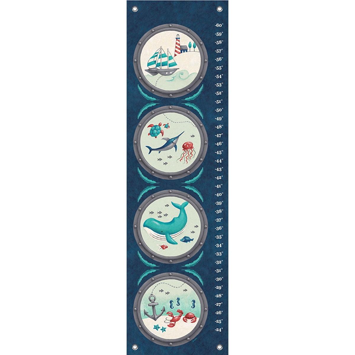 12 x 42 Oopsy Daisy Growth Chart Hockey Locker
