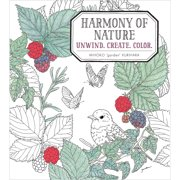 Sterling Publishing-Harmony Of Nature Coloring Book