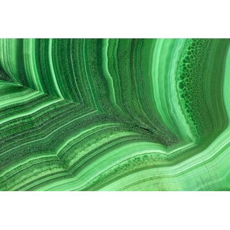 Malachite Art (Malachite Print Wall Art By Darrell Gulin)