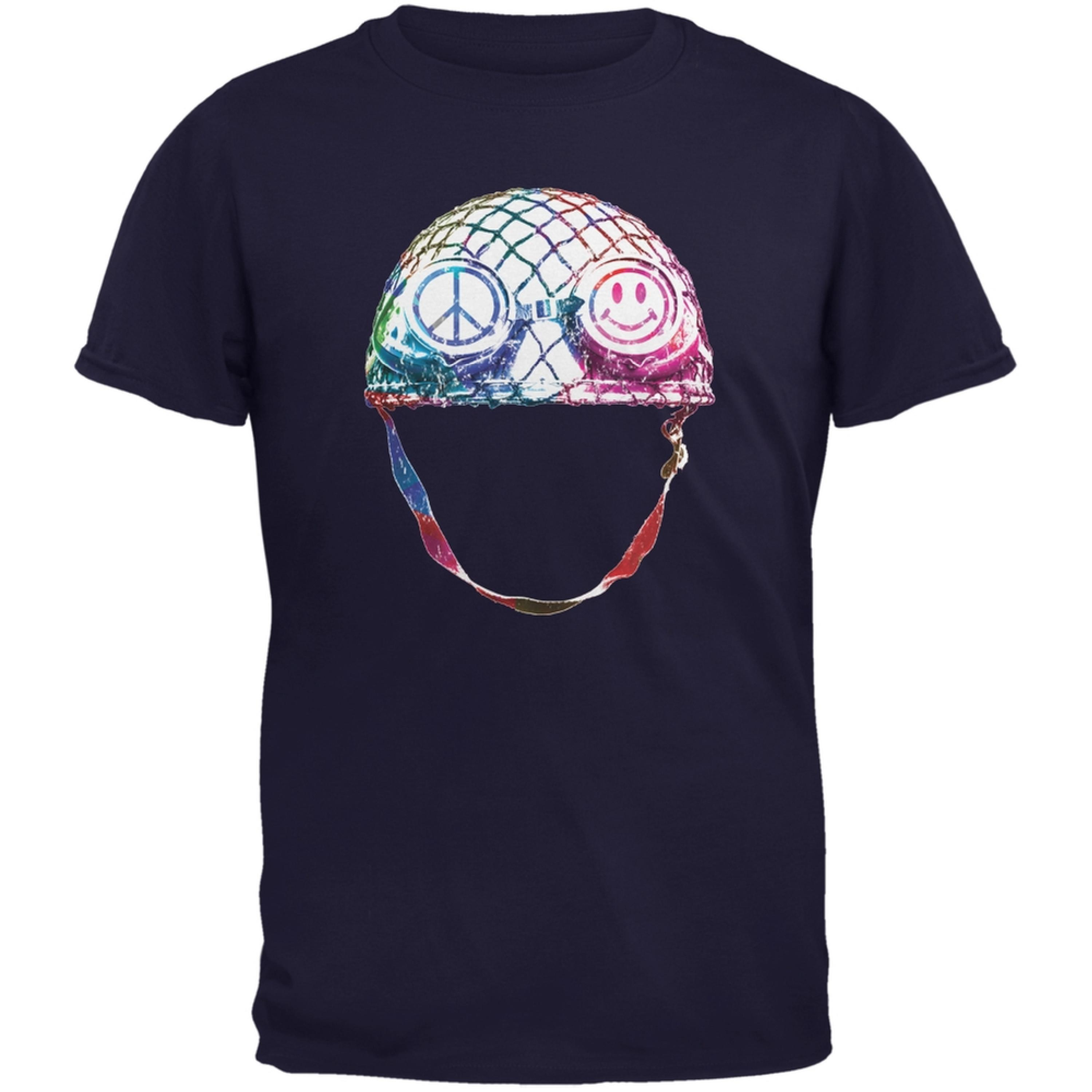 Warrior of Peace Helmet Navy Youth T-Shirt