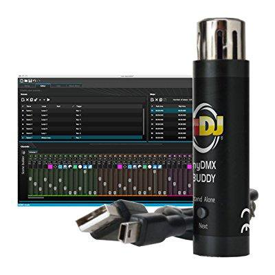 Software Instrument Educational Discount (american dj mydmx buddy usb computer software led dmx light controller interface )