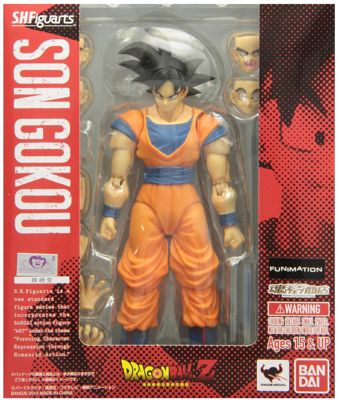 Bandai Tamashii Nations S.H. Figuarts Goku Action Figure by