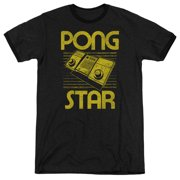 Atari Star Mens Adult Heather Ringer Shirt