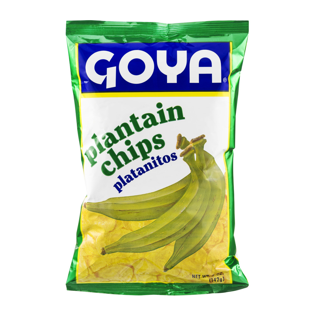 (4 Pack) Goya Plantain Chips, 5 oz
