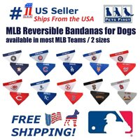 Pets First MLB Oakland Athletics Reversible Bandana - Dual-Sided Bandana for Cats & Dogs