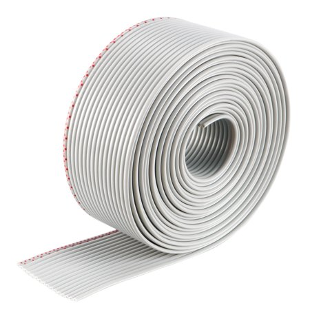 - 16P Jumper Wire 1.27mm Pitch Ribbon Cable Breadboard DIY 2 Meters Long