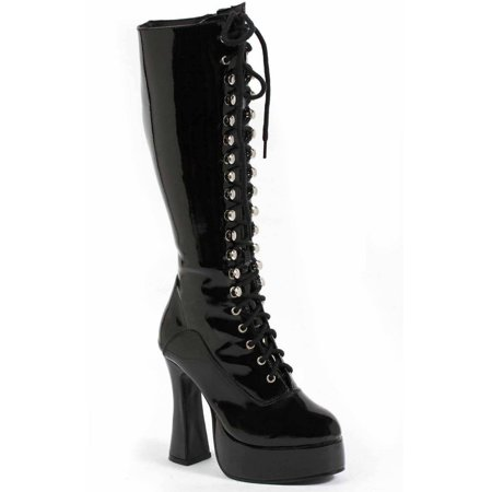 Easy Black Boots Women's Adult Halloween Costume Accessory - Cheap Easy Costumes