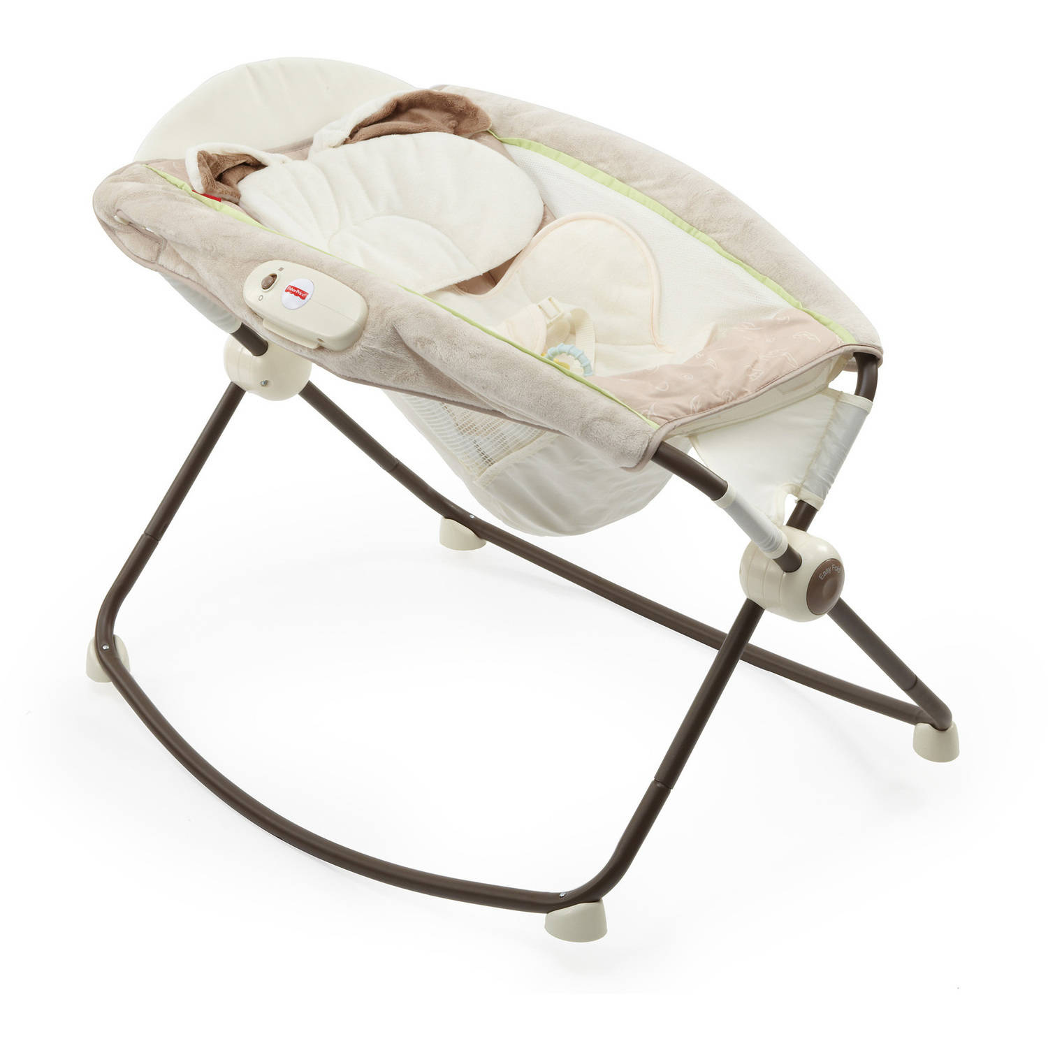 Fisher Price My Little Snugabunny Deluxe Newborn Rock 'n ...