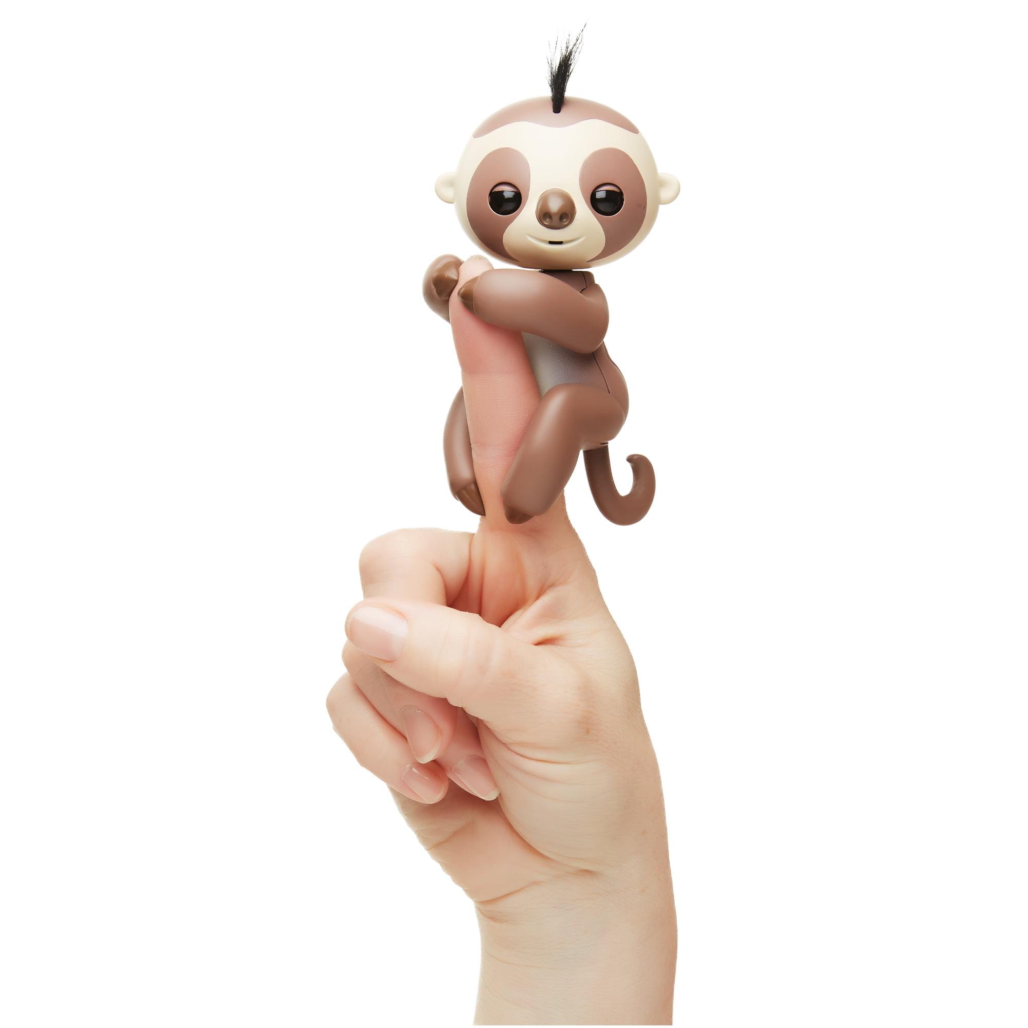 Fingerlings Interactive Sloth - Brown - Kingsley