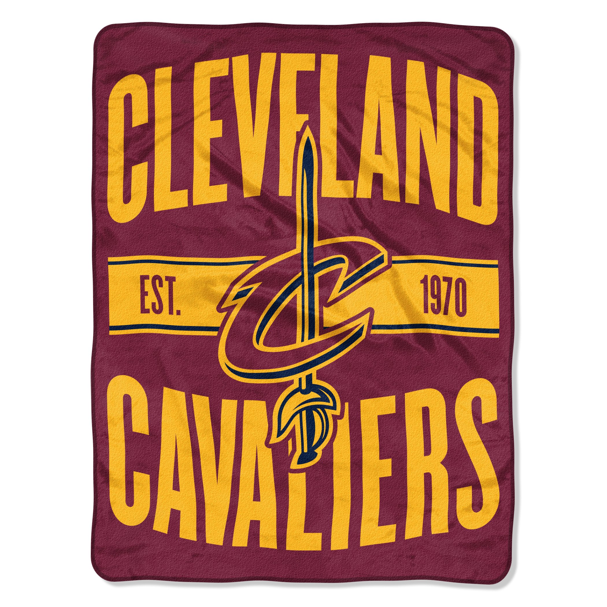 """NBA Cleveland Cavaliers """"Clear Out"""" 46""""x 60"""" Micro Raschel Throw"""