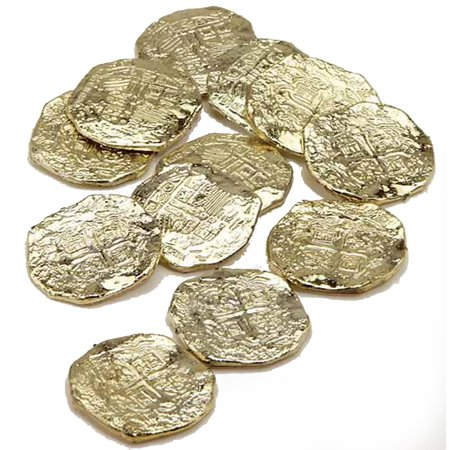 Gold Doubloons Plastic J22330](Gold Doubloons)