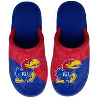 Kansas Jayhawks Big Logo Scuff Slippers