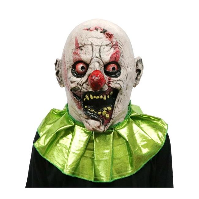 Fearscape Studios FS006 Stitches The Clown Scary Adult Halloween Latex Mask
