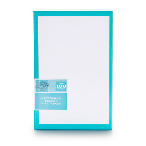 picture about Walmart Printable Invitations named Printable Invites White 5.5X8.5 100Pk